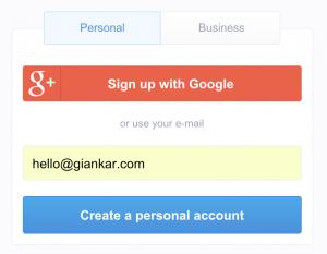 transfergo-registration-page